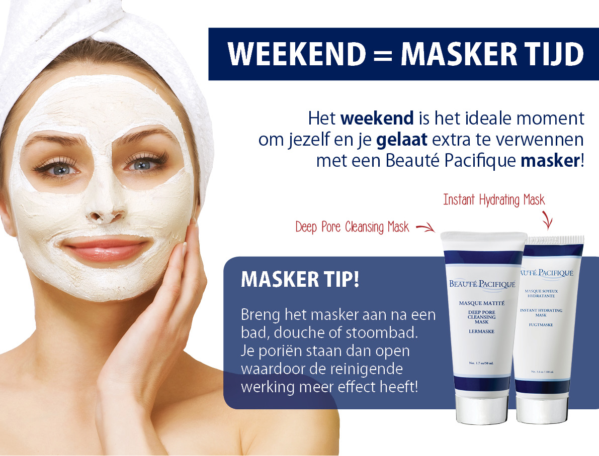 Beauté Pacifique - weekend masker - Healthy Body